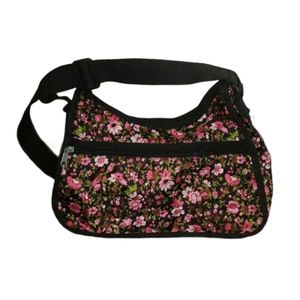 Floral Print Crossbody Shoulder Bag